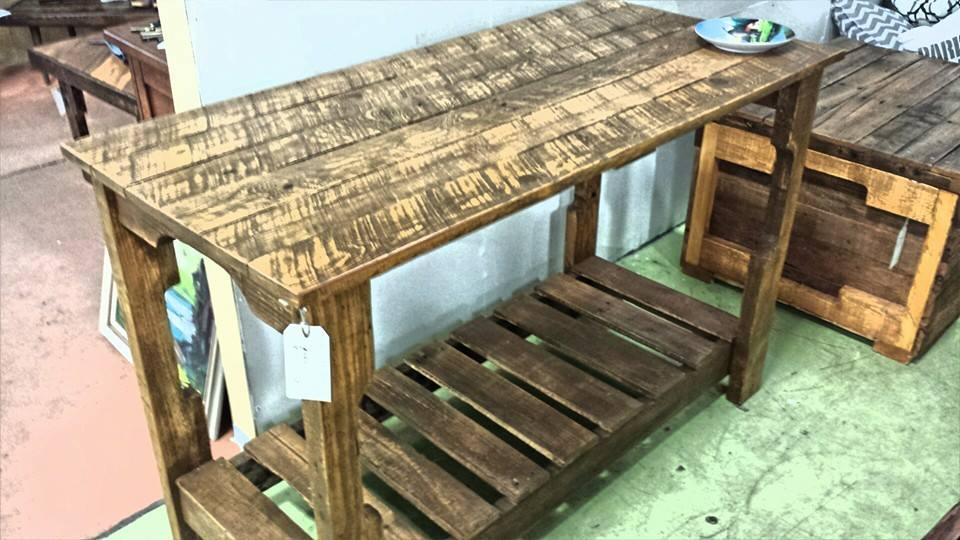 Wood Table Regeneration Station
