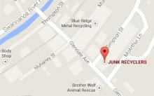 junk hauling map